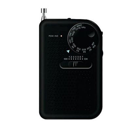 Sylvania Portable AM/FM Radio - Black