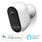 Swann 1080p HD Wire-Free Smart Indoor/Outdoor IP Security Camera with TrueDetect Sensing - White