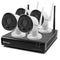 Swann 4 Channel 1080p HD 1TB Wi-Fi NVR Security System with 4 Outdoor Wi-Fi Thermal-Sensing Bullet Cameras