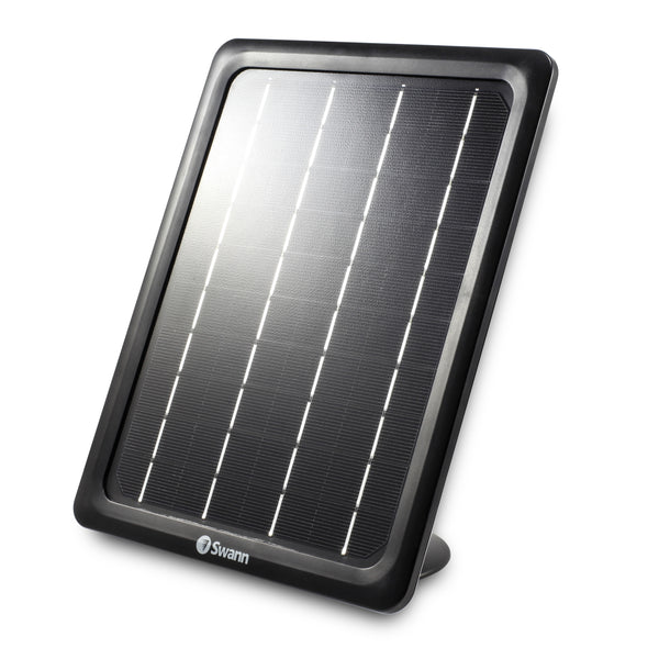 Swann Solar Panel for Wire-Free Smart IP Security Camera (SWIFI-CAMW and SWWHD-INTCAM) - Black