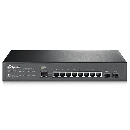 TP-Link JetStream 8-port Gigabit L2 Managed Network Switch with 2-port SFP