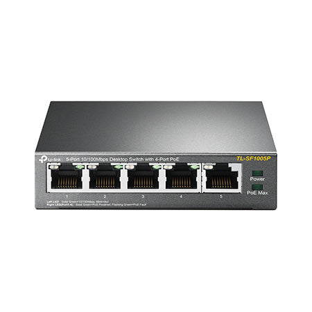 TP-Link 5-port 10/100-Mbps Unmanaged Desktop Switch with 4-port PoE