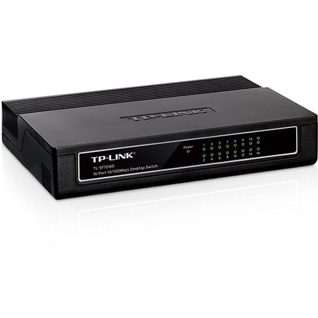 TP-Link 16-port 10/100-Mbps Unmanaged Desktop Network Switch