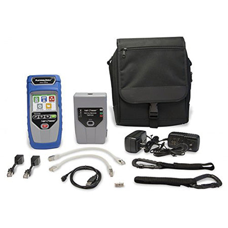 Platinum Tools Net Chaser Ethernet Speed Certifier and Network Tester Kit