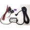 Tracki 12-24-volt to Micro USB Vehicle/Marine Power Stabilizer and Wiring Kit for Tracki 3G GPS Tracker - Black