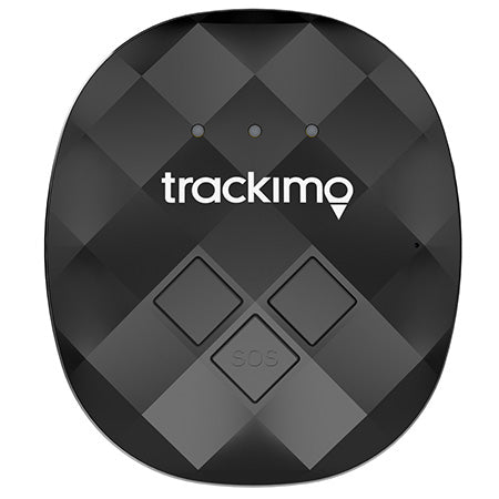 Trackimo Guardian Pet Collar 3G GPS Tracker - Black