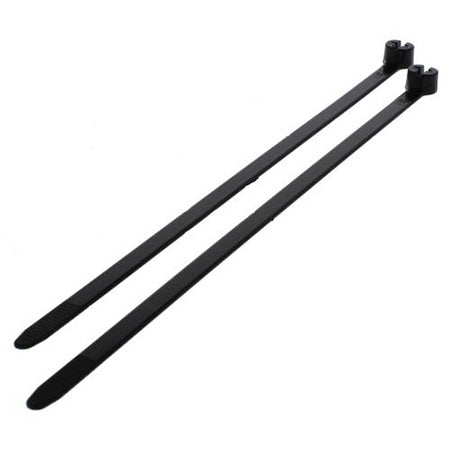 Thomas & Betts TY26MX Ty-Rap 11.1-in Nylon 6.6 Cable Tie - 1000 Pack - Black