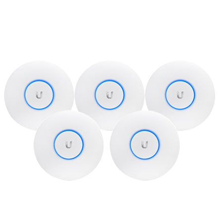 Ubiquiti UniFi AC Long Range Indoor Access Point - 5-pack