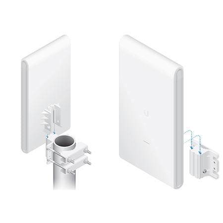 Ubiquiti Unifi AC Mesh Pro Dual Band 3x3 MIMO Indoor/Outdoor Access Point with Plug & Play Mesh - Single - Open Box