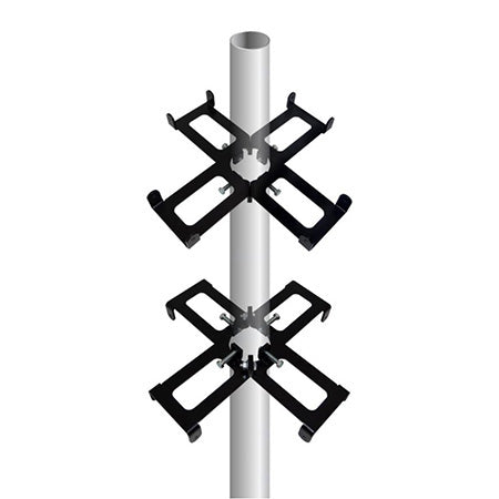 RF Armor 4 Gang Cluster Mount for Ubiquiti Antennas