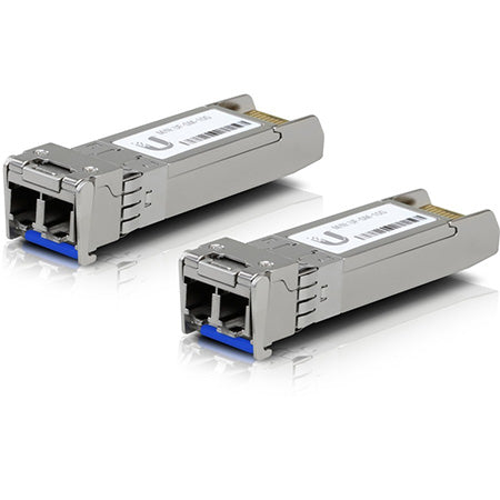Ubiquiti UF-SM-10G U Fiber SFP+ Single-Mode Fiber Module (2-Pack)