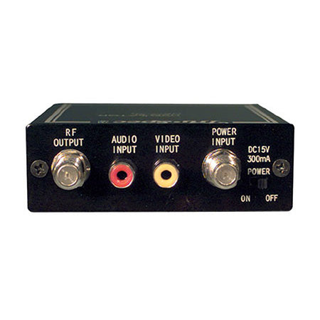 Pico Digital Single Audio-Video RF Modulator - Black