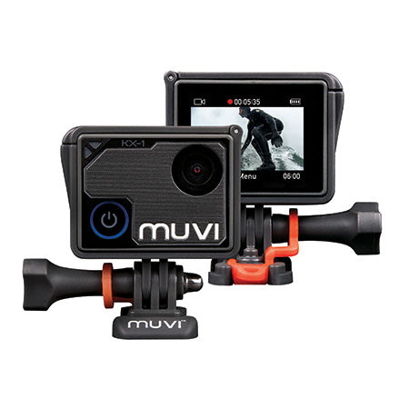 Veho MUVI KX-1 4K WiFi Handsfree Action Camera - Black