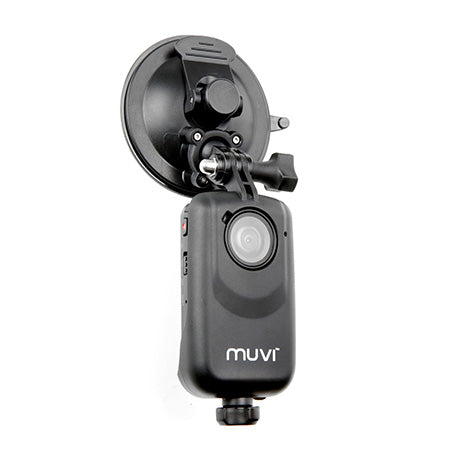 Veho MUVI Universal Action Camera Suction Mount with Cradle - Black