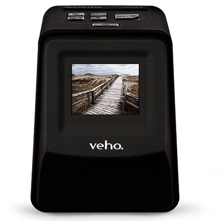 Veho Smartfix Portable Stand-alone 14MP Negative Film and Slide Scanner - Black