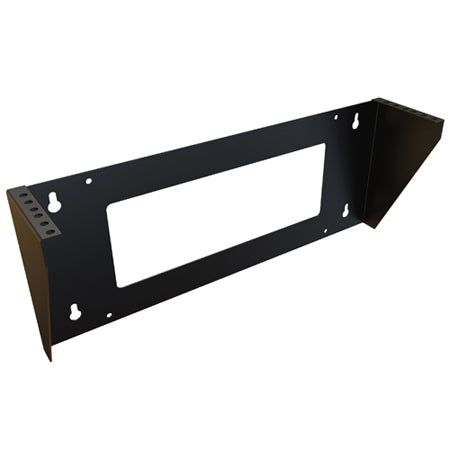 Hammond 10.1-cm (4-in) Vertical Wall Mounted Rack - Black