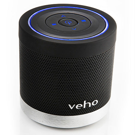 Veho M4 360 degree Wireless Bluetooth Speaker - Black