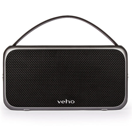 Veho M7 Retro Water Resistant Wireless Bluetooth Speaker - Black - Open Box