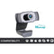 Vimtag Plug and Play 1080P HD Webcam with Microphone
