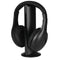 Jensen Wireless Headphones with RF Transmitter - Black