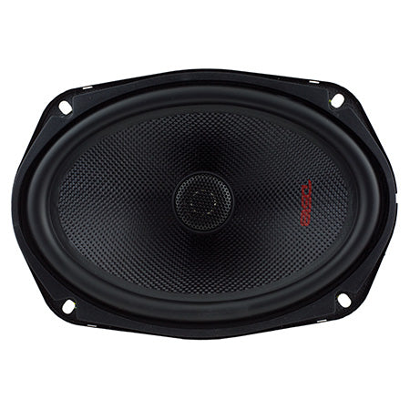 DS18 Elite Series 6-in to 9-in 240-watts Two-Way Coaxial Auto Speakers - Pair - Black