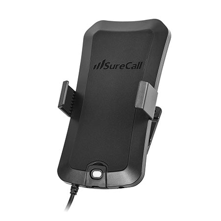 SureCall Universal Dash-Mount Phone Cradle with Built-in Mobile Antenna - Black