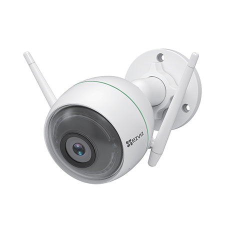 EZVIZ C3WN 1080p Outdoor Wi-Fi Bullet Camera with Google Assistant and Amazon Alexa Compatibility