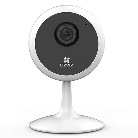 EZVIZ C1C 720p Indoor Wi-Fi Security Camera with Google Assistant and Amazon Alexa Compatibility