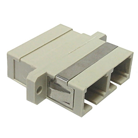 SC/SC Fiber Coupler F/F Multimode OM1/OM2 Duplex Ceramic Panel Mount