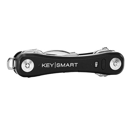 KeySmart Pro Key Holder with Tile Smart Location - Black