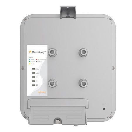 IgniteNet MetroLinq 60-GHz Outdoor Point to Point Radio with 2.5-Gbps Aggregate Throughput and Integrated 5-GHz Redundant Failover Link - 19-cm (7.5-in)