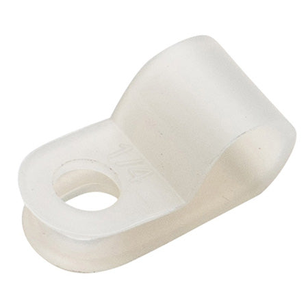 New World Telecom 6.3-mm (1/4-in) Plastic Cable Clamp  - 1000-bag - White