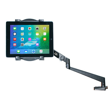 CTA Digital Tabletop Arm Mount for Tablets - Black