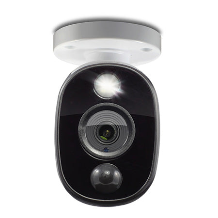 Swann 1080p PIR Outdoor Add On Bullet Security Camera with Warning Light Sensor