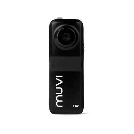 Veho Muvi Micro HD10X Handsfree 1080P HD Camcorder with 8GB microSD Card - Black