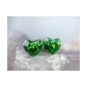 Gaia Love Mini Heart Studs