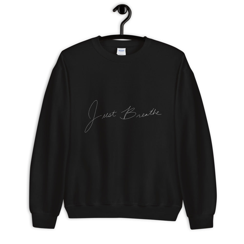 Just Breathe Graphic Sweatshirt