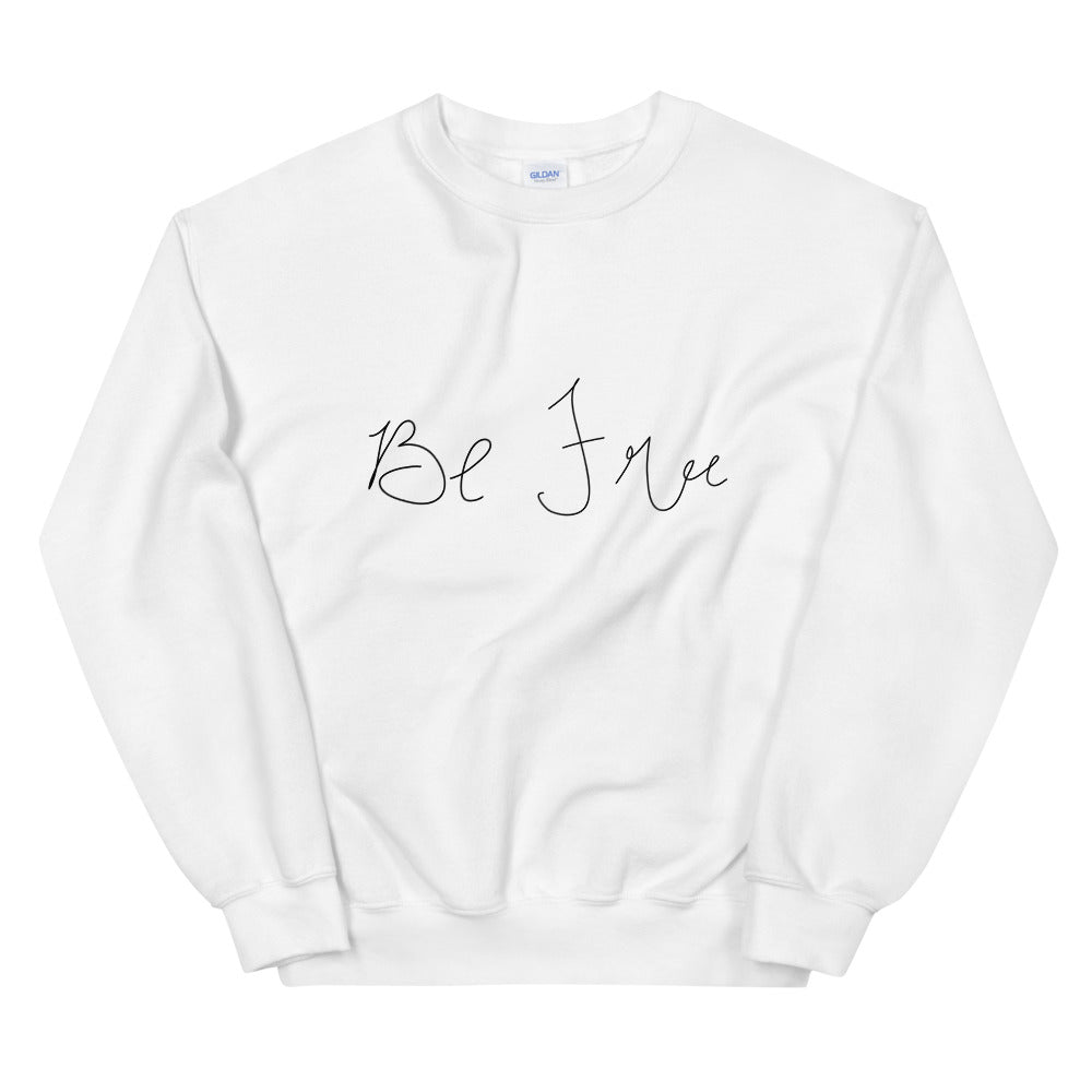 Be Free Graphic Sweatshirt
