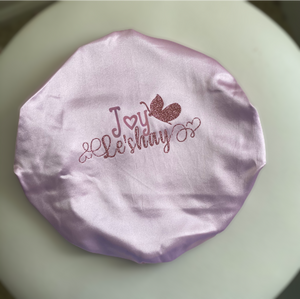 Personalized Mommy and Me bonnet