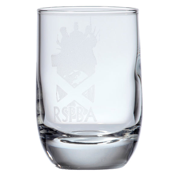 Round Whisky Nip Glass