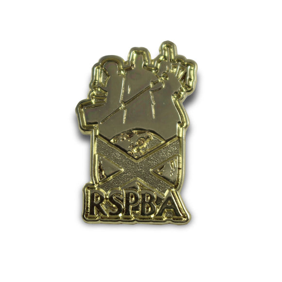 RSPBA Gold Logo Pin Badge