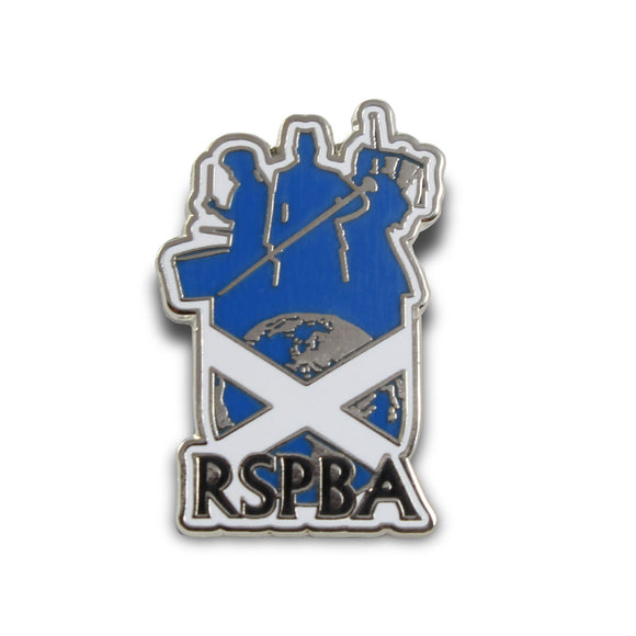RSPBA Logo Pin Badge