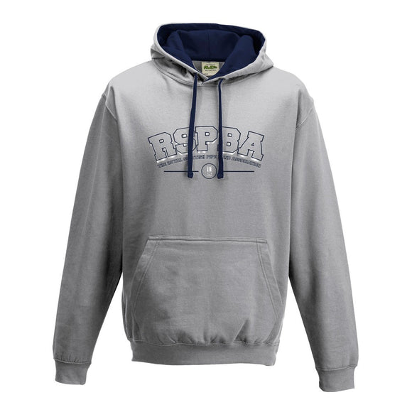 RSPBA Grey/Navy Hooded Sweatshirt