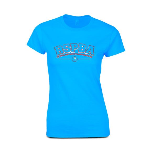 RSPBA Heather Sapphire Ladies Fitted T-Shirt