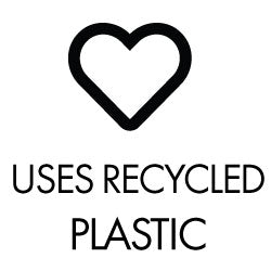 Uses Recycled Plastic