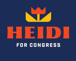 Heidi For Congress Logo