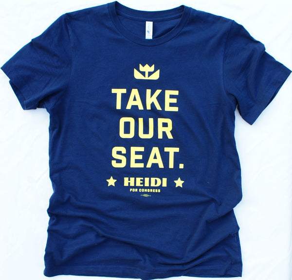 """Take Our Seat"" T-Shirt"