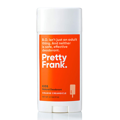 Pretty Frank. - Kids Zinc Stick Deodorant (Orange Creamsicle)