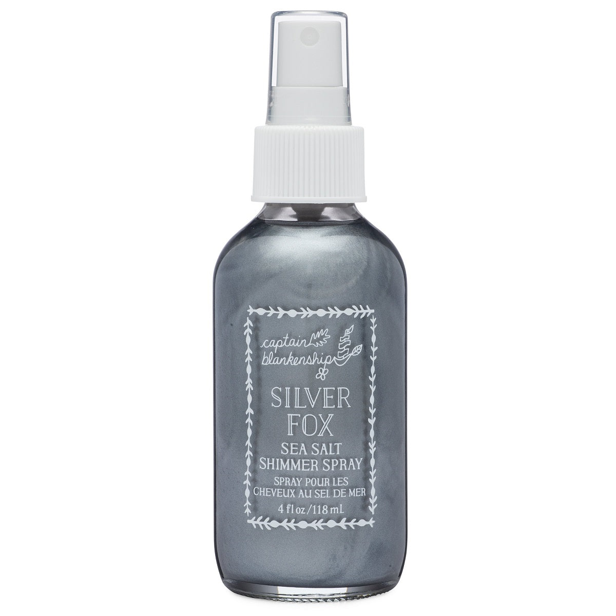 Captain Blankenship - Silver Fox Sea Salt Shimmer Spray (4 oz)