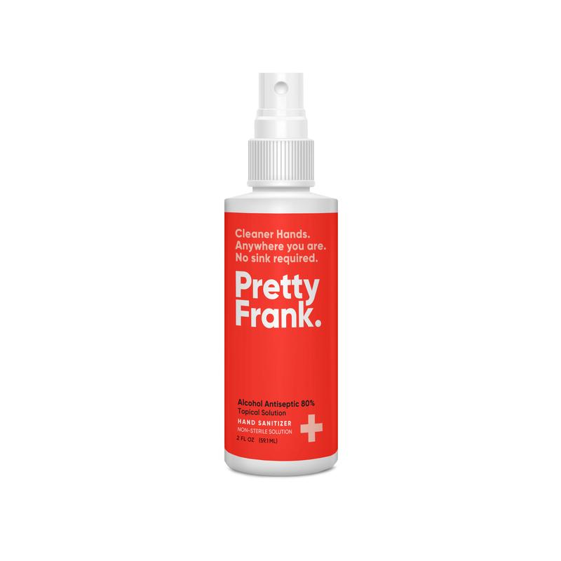 Pretty Frank. - Hand Sanitizer (2 oz)